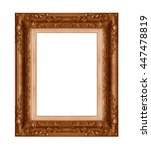 Old Antique Frame Isolated...