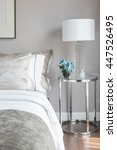 classic bedroom style with set... | Shutterstock . vector #447526495