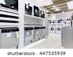 gas and electric ovens and... | Shutterstock . vector #447535939