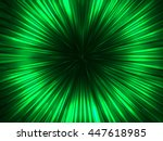 abstract green funnel hole... | Shutterstock .eps vector #447618985