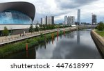 The london aquatics centre is...