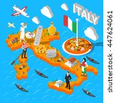 Italy Isometric Cultural...