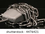 computer mouse with chain | Shutterstock . vector #4476421