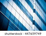 modern commercial building in... | Shutterstock . vector #447659749