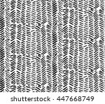 hand drawn graphic brush... | Shutterstock .eps vector #447668749