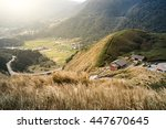xiaoyoukeng visitor center in... | Shutterstock . vector #447670645