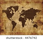a large image of old and worn... | Shutterstock . vector #4476742