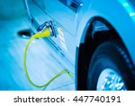 loading energy of an electric... | Shutterstock . vector #447740191