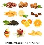 set of different food | Shutterstock . vector #44775373