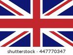 united kingdom flag | Shutterstock .eps vector #447770347