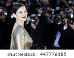 cannes  france   may 15  marion ... | Shutterstock . vector #447776185