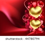 satin love vector background | Shutterstock .eps vector #44780794