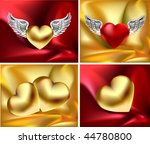 satin love vector items | Shutterstock .eps vector #44780800