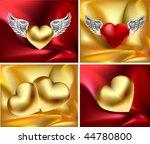 satin love vector items | Shutterstock .eps vector #44780800
