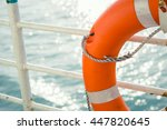 Life Buoy Attached To The...