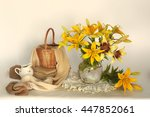 Still Life With Lilies In A...