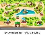 a vector illustration of... | Shutterstock .eps vector #447854257
