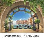 Terrace In Venice