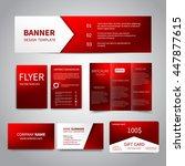 banner  flyers  brochure ... | Shutterstock .eps vector #447877615