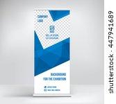 banner roll up design  business ... | Shutterstock .eps vector #447941689