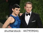 Small photo of Hollywood, California, USA; February 24, 2013; Ginnifer Goodwin and Josh Dallas attend the 2013 Vanity Fair Oscar Party at the Sunset Towers in Hollywood, California.