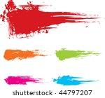 paint splashes   Shutterstock .eps vector #44797207