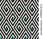abstract ethic geometric... | Shutterstock .eps vector #448001311