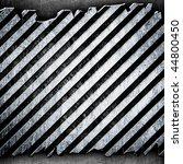 cracked metal stripe background | Shutterstock . vector #44800450