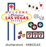 vector illustration of welcome... | Shutterstock .eps vector #44803165