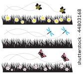 vector illustration of bees ... | Shutterstock .eps vector #44803168
