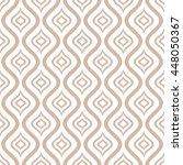 vector seamless ornamental...   Shutterstock .eps vector #448050367