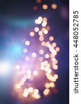 christmas wallpaper decorations ... | Shutterstock . vector #448052785