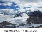 italian alps. adamello mountain ... | Shutterstock . vector #448061701