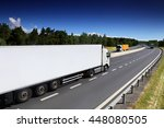 truck on the road | Shutterstock . vector #448080505