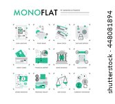 infographics icons collection... | Shutterstock .eps vector #448081894