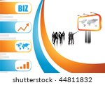 business people | Shutterstock .eps vector #44811832