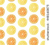 Seamless Pattern With Fruit...