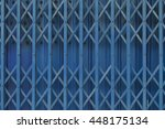 Antique Slide Steel Door Locked....
