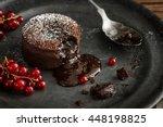Warm Chocolate Lava Cake With...