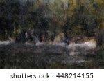 the artistic imitation of... | Shutterstock . vector #448214155