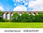 digswell viaduct  welwyn... | Shutterstock . vector #448265449