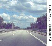 mobile photo straight empty... | Shutterstock . vector #448274545