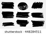 marker stains.grunge design... | Shutterstock .eps vector #448284511