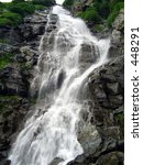 Waterfall. (For more artistic photos, please visit my gallery!Thank you!) - stock photo