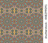 seamless pattern. vintage... | Shutterstock . vector #448299091