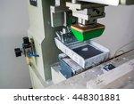 pad printing | Shutterstock . vector #448301881