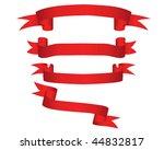 ribbons set | Shutterstock . vector #44832817