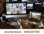 photography ideas creative... | Shutterstock . vector #448334785