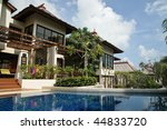 luxurious open air swimming... | Shutterstock . vector #44833720