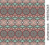 seamless pattern. vintage... | Shutterstock . vector #448356265